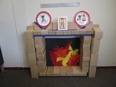 Onderwijs en zo voort ........: 3052. Sint in de klas : Schoorsteen van blokken Dramatic Play, Pre School, Preschool Activities, Toy Chest, Just In Case, Kindergarten, December, Classroom, Fun