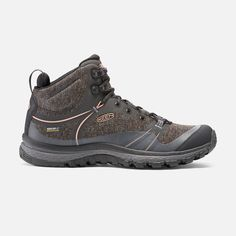 Designed specifically for women, this lightweight hiking boot doubles as an around-town trekker. With a glove-like fit and a cushioned ankle panel, it delivers flexible freedom and all-day comfort.