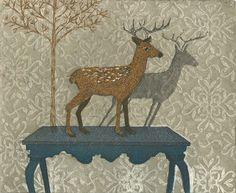 Himmelblau, Printmaking, Moose Art, Prints, Pictures, Animals, Finland, Advent Calendar, Photos
