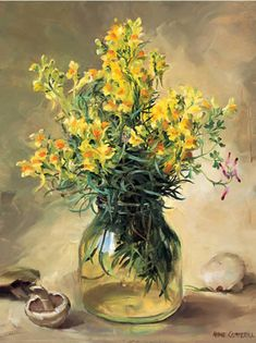 Toadflax | Mill House Fine Art – Publishers of Anne Cotterill Flower Art