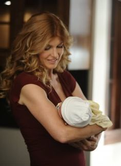 Connie Britton, starring as Vivien Harmon, on American Horror Story!