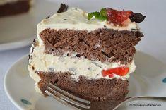 Tort Stracciatella cu crema mascarpone si ciocolata | Savori Urbane Tiramisu, Cheesecake, Ice Cream, Homemade, Cooking, Ethnic Recipes, Desserts, Food, Cakes