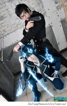 Blue Exorcist cosplay - Rin and Yukio