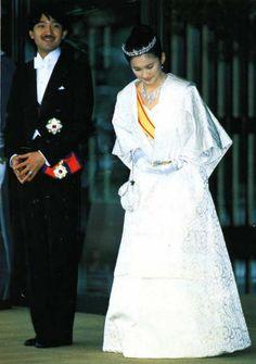 Prince Akishino and his wife Princess Kiko
