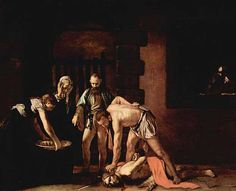 """The beheading of St. John the Baptist"" by Carvaggio"