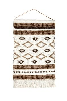 Target Wall Hangings woven wall hanging - blue (18 | woven wall hanging, target and walls