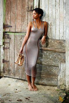 Amazingly sexy knit dress