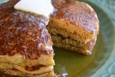 Recipe : Cornmeal Molasses Pancakes