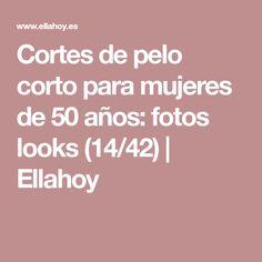 Cortes de pelo corto para mujeres de 50 años: fotos looks (14/42)   Ellahoy