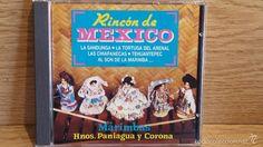 HNOS. PANIAGUA Y CORONA. MARIMBAS / RINCÓN DE MÉXICO. CD / PERFIL - 20 TEMAS / LUJO. RARO.