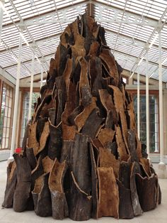 Sculpture - David Nash, Kew Gardens