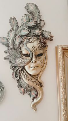 Good No Cost Mascara venecianas Ideas , , Mixed Media Canvas, Mixed Media Art, Sculpture Art, Sculptures, Costume Venitien, Art Visage, Venice Mask, Beautiful Mask, Carnival Masks
