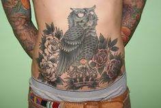 Risultati immagini per gufo tattoo