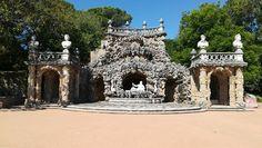 Cascata da Quinta Real de Caxias, Oeiras.