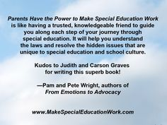 Authors Judith And Carson Graves Speak >> Judith Canty Graves And Carson Graves Special Education Authors