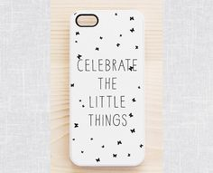 Quote iPhone 5 case, quote iPhone 5S case, hipster iPhone 4 case, white iPhone 4S case - inspirational quote, hipster font - Samsung S4  S3...