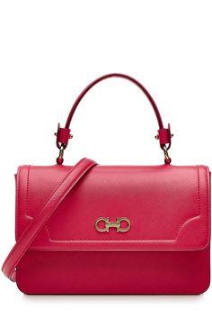 52338c5d79e SALVATORE FERRAGAMO Leather Shoulder Bag.  salvatoreferragamo  bags   shoulder bags  hand bags  leather  lining