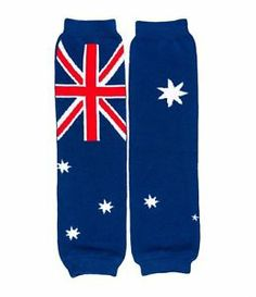 Australia Flag Leg Warmers
