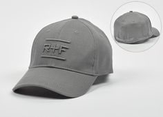 Baseball Cap with Raised R+F Embroidery #RFConvention
