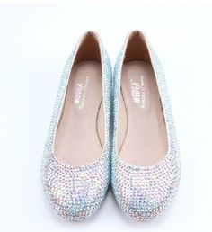 AB Crystal Luxury Flats, Daily Party shoes and Unique prom shoes, personalized bridal shoes in handmade by ANGELBLINGBOX on Etsy https://www.etsy.com/listing/185521634/ab-crystal-luxury-flats-daily-party