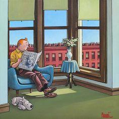 Hergé – Hopper – Marabout