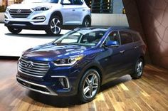 2017 Hyundai Santa Fe, Santa Fe Sport Refreshed, Gain More Safety Tech Hyundai's crossovers get a makeover in Chicago.