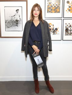 """francoisgoize: """" 2015 - Jeanne Damas - Opening of Paris Photo at Le Grand Palais - Photo © François Goizé for Vanity Fair. All rights reserved """""""