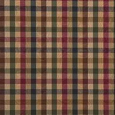 Click to Enlarge Plaid Fabric, Red Fabric, Cotton Fabric, Types Of Window Treatments, Fabric Outlet, Plaid Fashion, Pattern Names, Drapery Fabric, White Fabrics