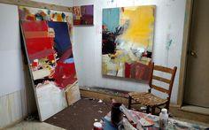 Carol Gove studio