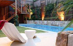 patios de casas con piscinas pequeñas - Buscar con Google