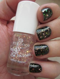 Essence Trend Edition Hugs & Kisses Glitter Topper - More Than Words