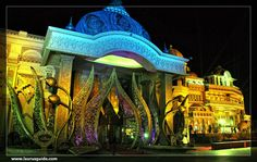 Kingdom of Dreams is one of the first live entertainment and leisure destinations in India. Covering an area of around 24,281.13 sq. m, the place is under the administrative control of Great India Nautanki Company, which is a joint venture of Wizcraft and Apra group. Comprising Nautanki Mahal, Showshaa Theatre, Culture Gully, Idea Buzz Lounge and a Theme Restaurant, this place is one of the popular tourist attractions in Gurgaon.