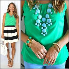 $200 @H&R Block #giveaway on the blog today! Plus tons of #emerald #outfit ideas. Link in profile!