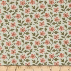 Penny Rose Penelope Floral Blue from @fabricdotcom  Designed by Erin Turner for Penny Rose Fabrics, this fabric is perfect for quilting, apparel and home decor accents. Colors include shades of pink, green, and blue.
