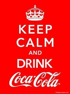 ... drink coca cola