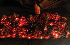 How to Create a Cheap and Easy Burning Coals Prop for Halloween « Halloween…
