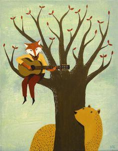 fox/music/nature