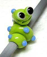 Critter Beads - Free Lampwork Tutorials by Fine Folly/ Kristina Floyd  Very cute!