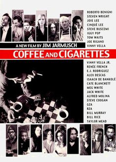 Jim Jarmusch's quirky ensemble comedy is presented as a series of vignettes that all revolve around discussions held over coffee and cigarettes.