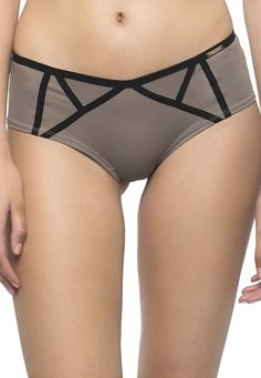 Mistress Taupe/Black short by Sapph available in Mambra / Szorty Mistress Taupe/Black marki Sapph dostępne w Mambra.