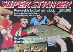 Super Striker. You pressed the head to kick.