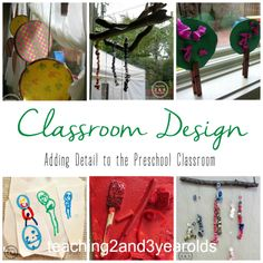 Designing a Classroom - Teaching 2 and 3 Year Olds
