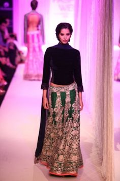 manish malhotra autumn/winter 2013- love the green