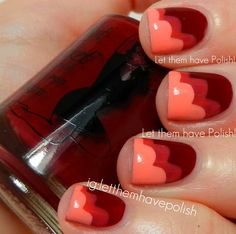 Let them have Polish!: 31 Day Challenge 2012! Day One: Red Nails