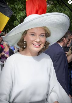 Members of the Belgian Royal Family attended National Day Ceremonies. July 21, 2015.