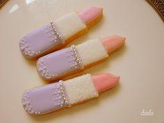 Lipstick cookies.