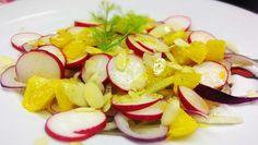 Ideal zum Sommer: Ein leichter Fenchel Salat mit fruchtigen Orangen ➤ Perfekt abgerundet durch Mandeln ➤ Ein Geschmackserlebnis mit nur 7 Zutaten.