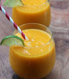 Milk-shake vanille et mangue, recette créole