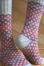 Knitting Patterns Socks Ravelry: Socks of a Different Stripe (SoaDS) pattern by Camille Chang Crochet Socks, Knit Or Crochet, Knitting Socks, Hand Knitting, Knitting Patterns, Crochet Patterns, Patterned Socks, Designer Socks, Fair Isle Knitting