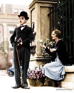 Chaplin and Flower Girl by NatasiaVerdoux on DeviantArt